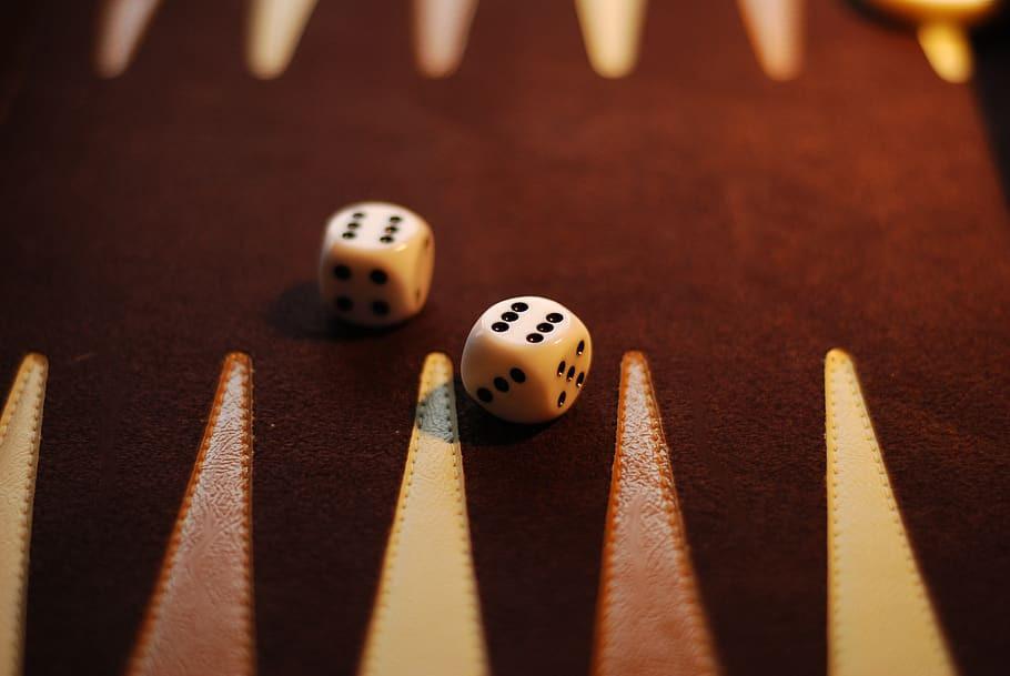 اجزای بازی تخته نرد. تاس، عامل شانس در بازی تخته نرد