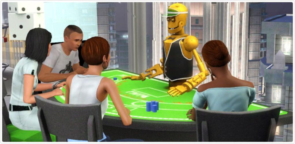 بازی سیمز برای قمار